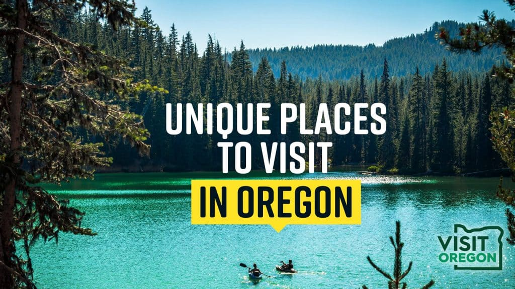 Unique Places In Oregon