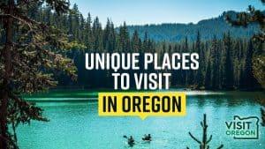 Unique Places In Oregon