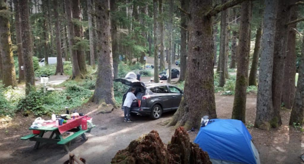 camping in cannon beach