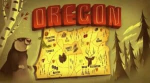 Gravity Falls Oregon