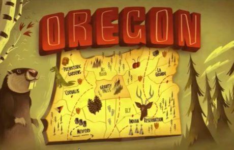 Gravity Falls Oregon