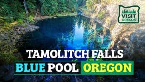 Tamolitch Falls Blue Pool Oregon