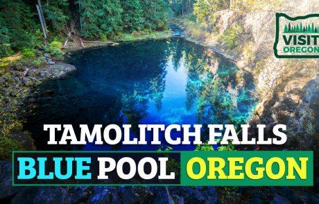 Tamolitch Falls Blue Pool Oregon