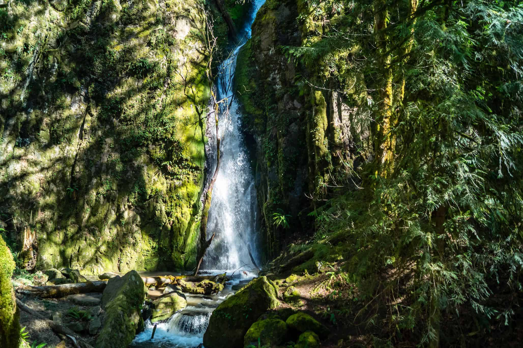 Lower Soda Creek Falls