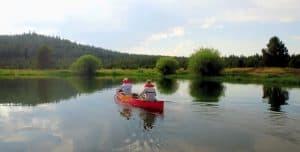 boating in Sunriver