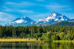 sisters Mountains Oregon 2