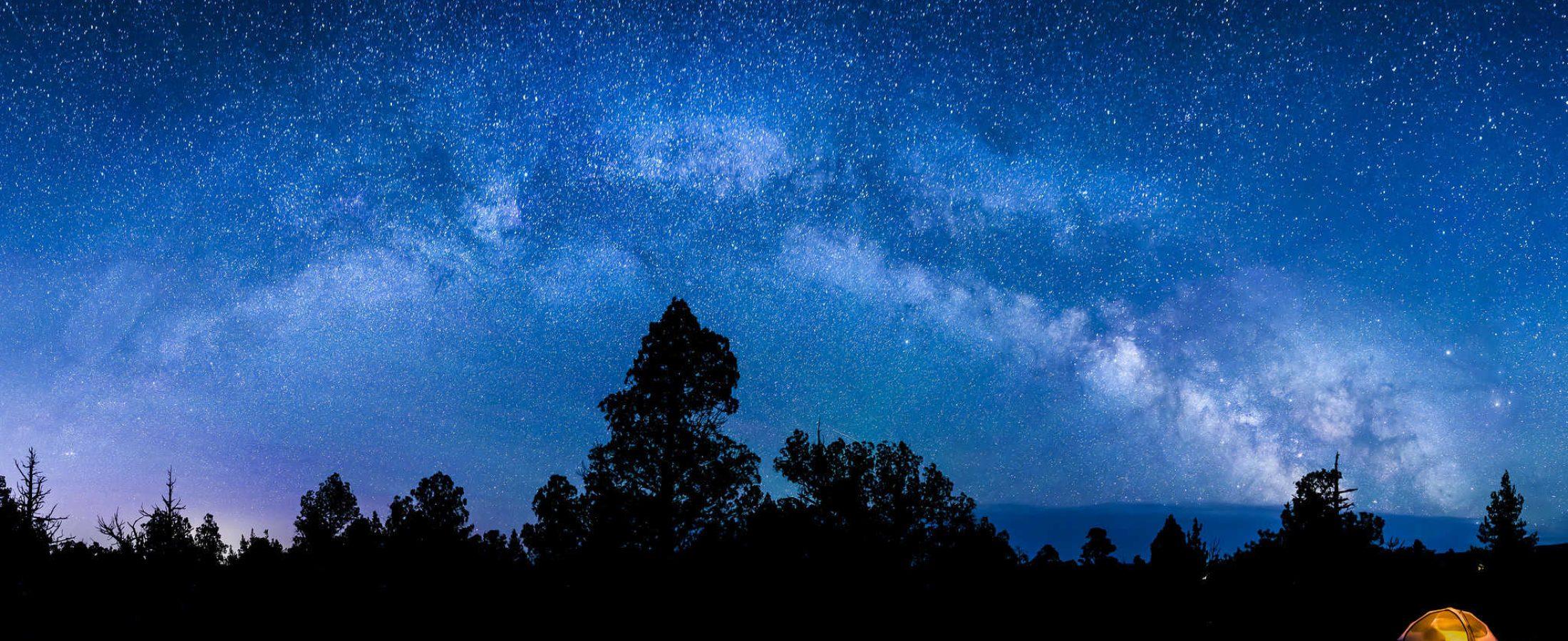 Night sky in Antelope Oregon